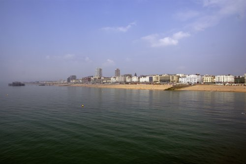 View from Brighton Pier (via Photos from maxcady808, tagged tumblr)