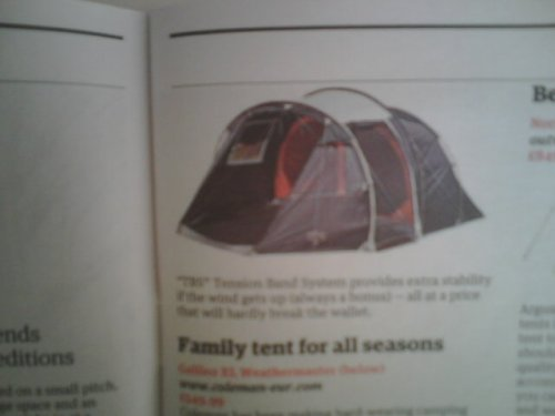 Inspired to go camping by todays guardian