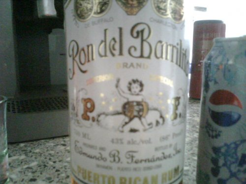 Sweet memories of Puerto Rico of the ron del barrilito 3 star variety