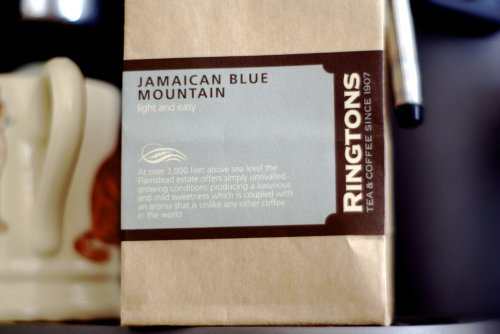 Jamaican Blue Mountain Fresh Coffee:  I've been working on music radio shows for Heineken for the last few years. They air in the Caribbean. I've just signed a new 12 month deal with them, and thought i'd celebrate with one of the finest coffee's in the world. (via  maxcady808's Photos )