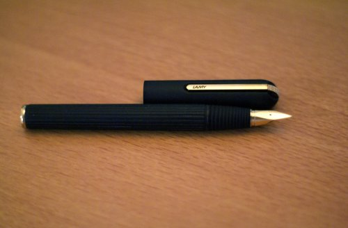 Lamy Persona:  Designed for Lamy by Mario Bellini in 1990. It's my new favorite pen. (via  maxcady808's Photos )