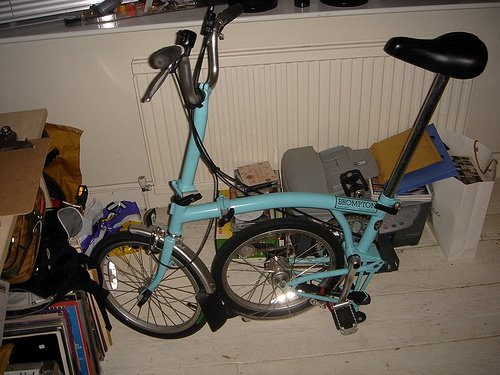 Brompton out from her winter slumber  (via  maxcady808's Photos )
