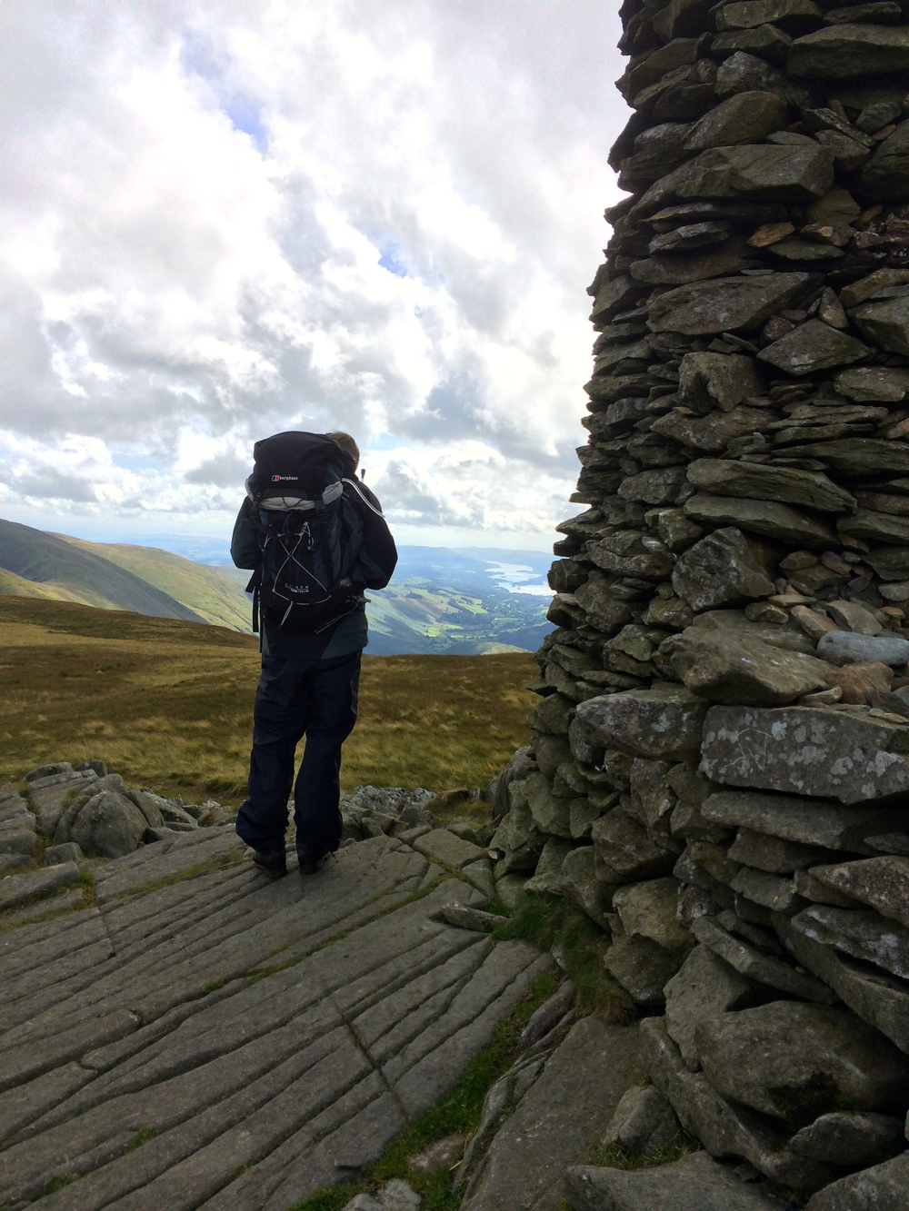 Ed at Thornthwaite Crag
