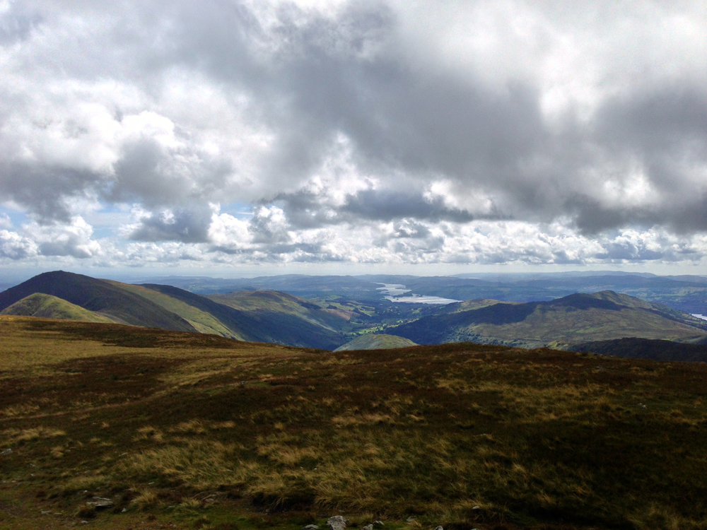 The view from Thornthwaite Crag