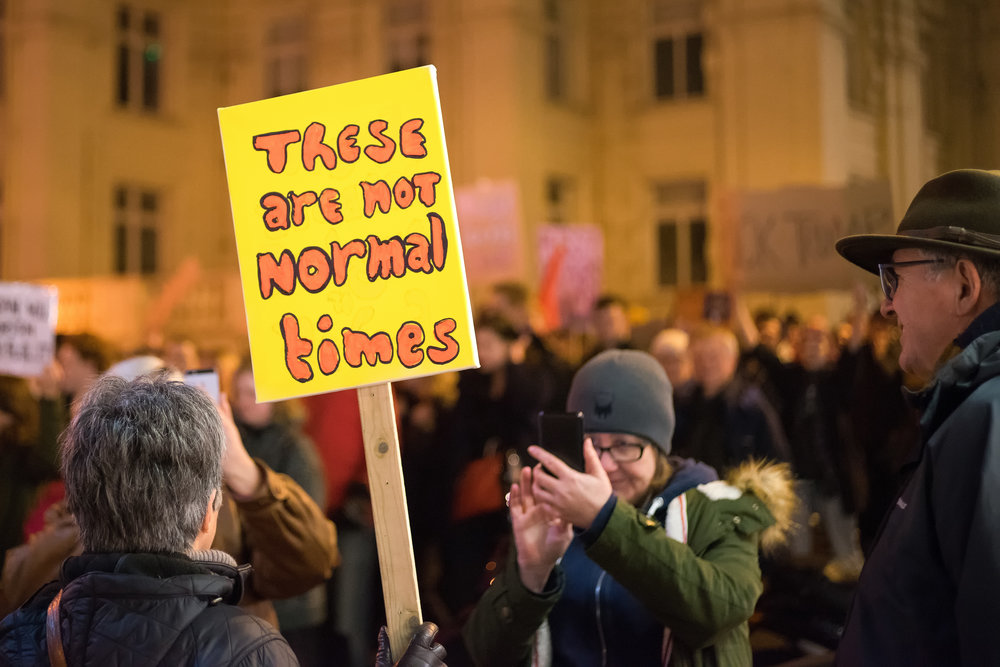 Anti Trump Protest, Brighton, 30th Jan 2017