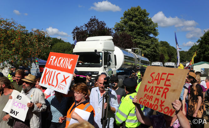 The single well drilled in Balcombe caused more protest than thousands drilled in the US