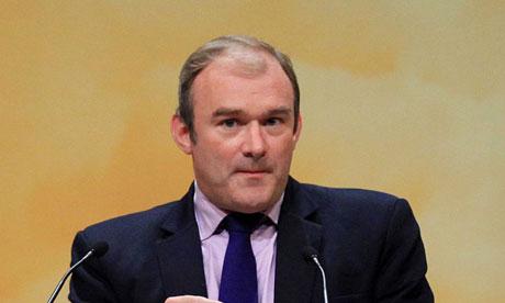 Ed Davey      - UK energy secretary