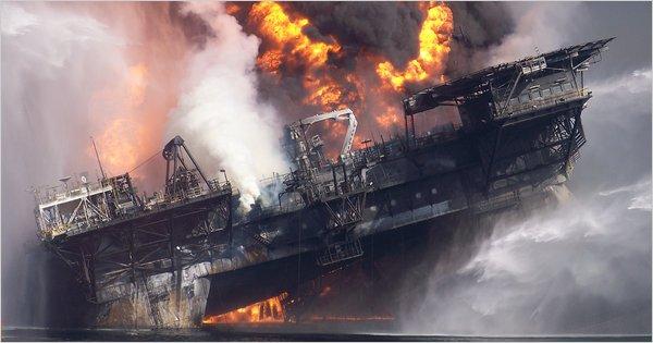 Deepwater Horizon Drilling Rig