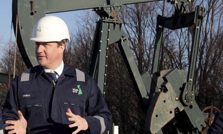 Cameron's story about how shale gas will save the British economy is demonstrably and devastatingly false