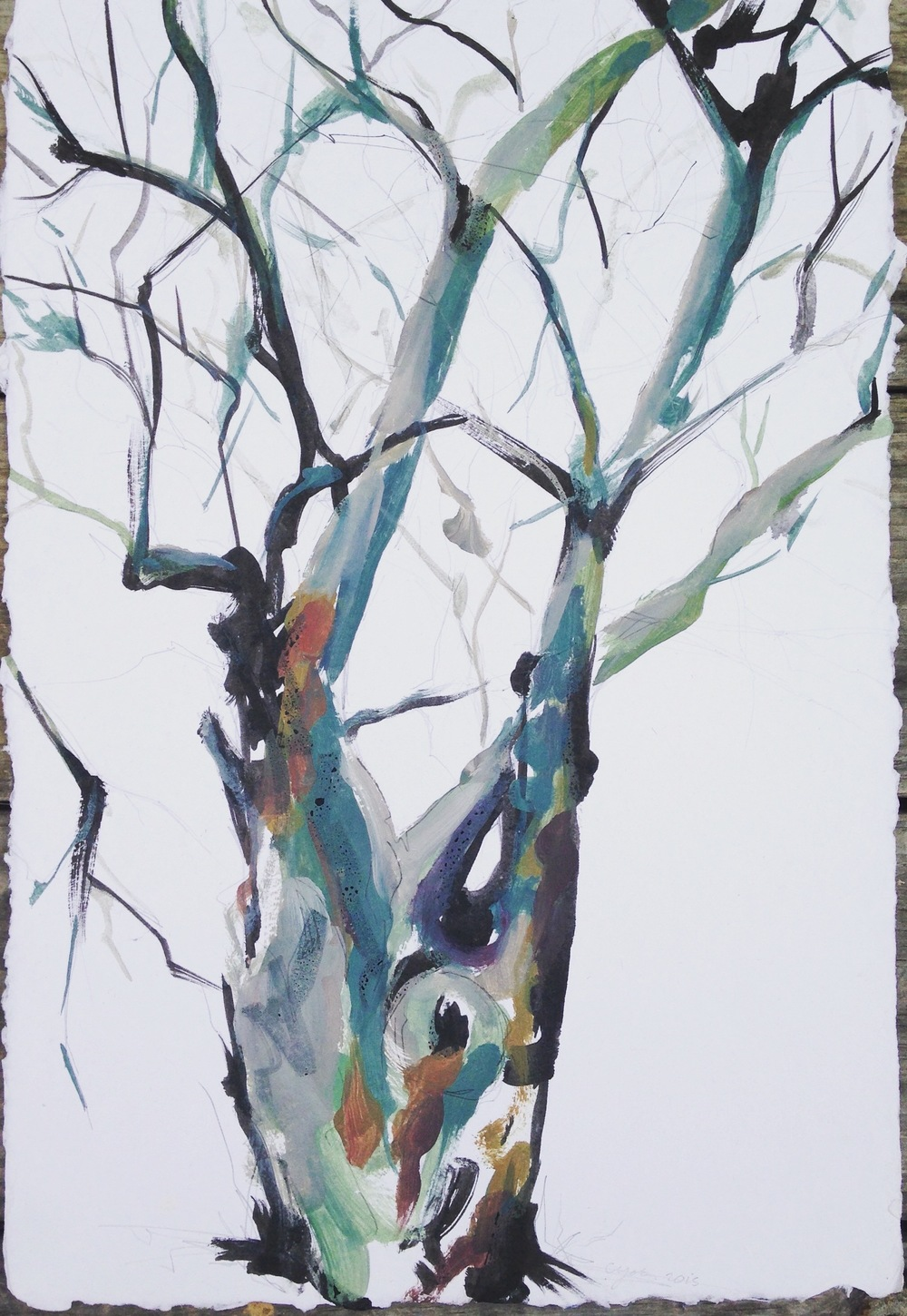 winter tree study II