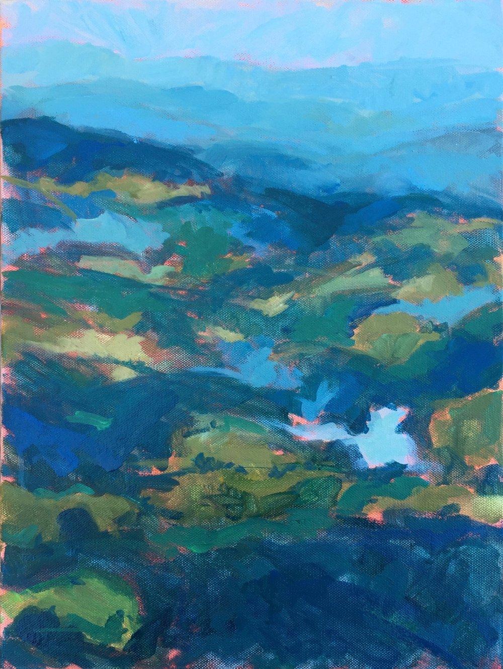 Blue Ridge aerial