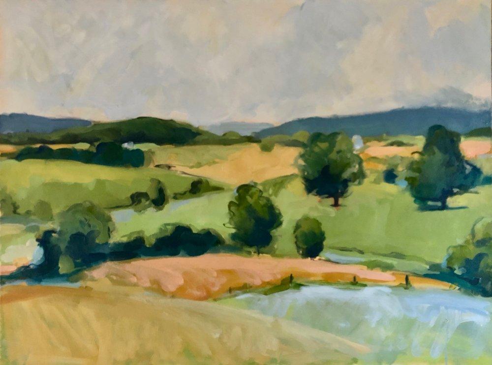 Layered Hills