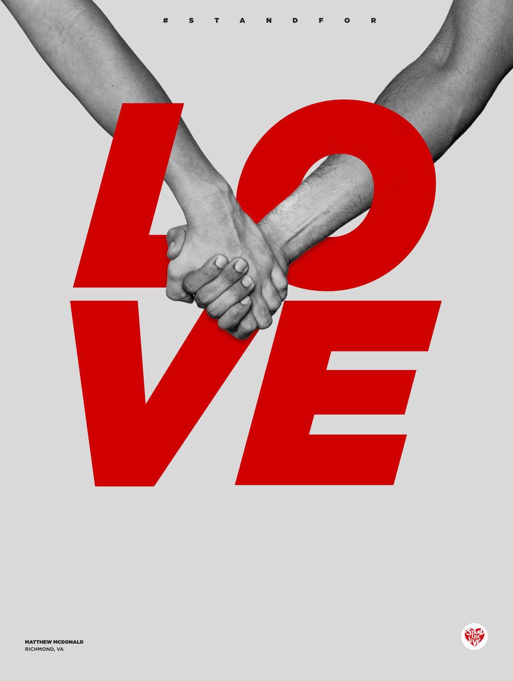 Va stand for love matthew mcdonald chwymcdonaldloveposterfinalg biocorpaavc