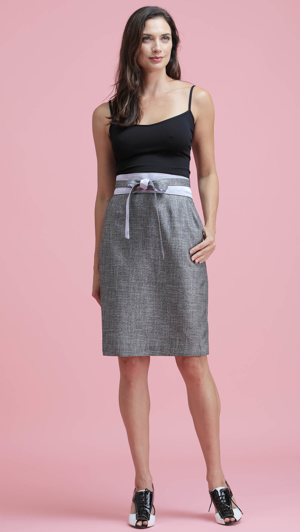 The Silver Bamboo Skirt