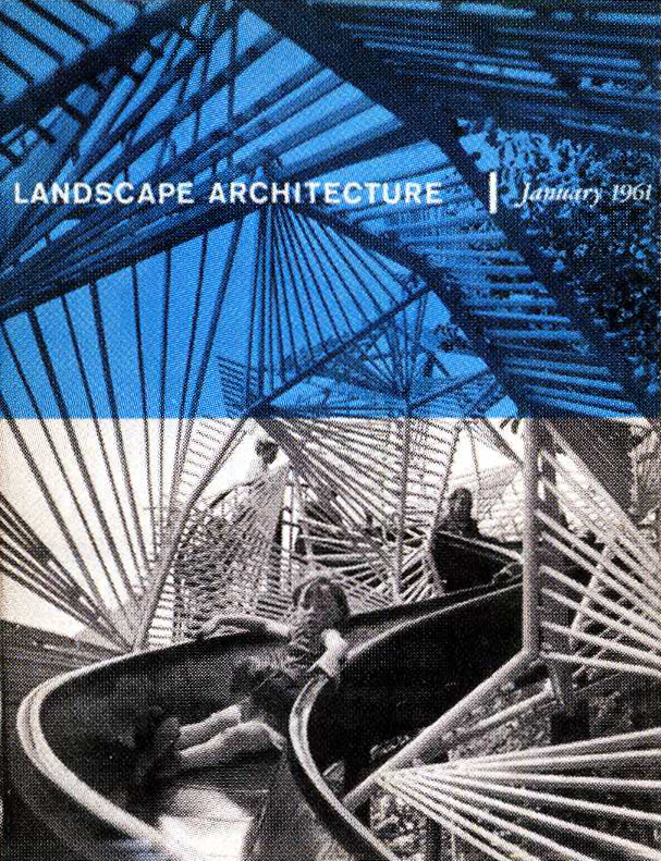 landscape architecture magazine covers from the 1960s karl rainer