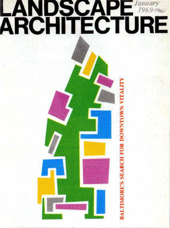 Landscape Architecture  , January 1969   © American Society of Landscape Architects