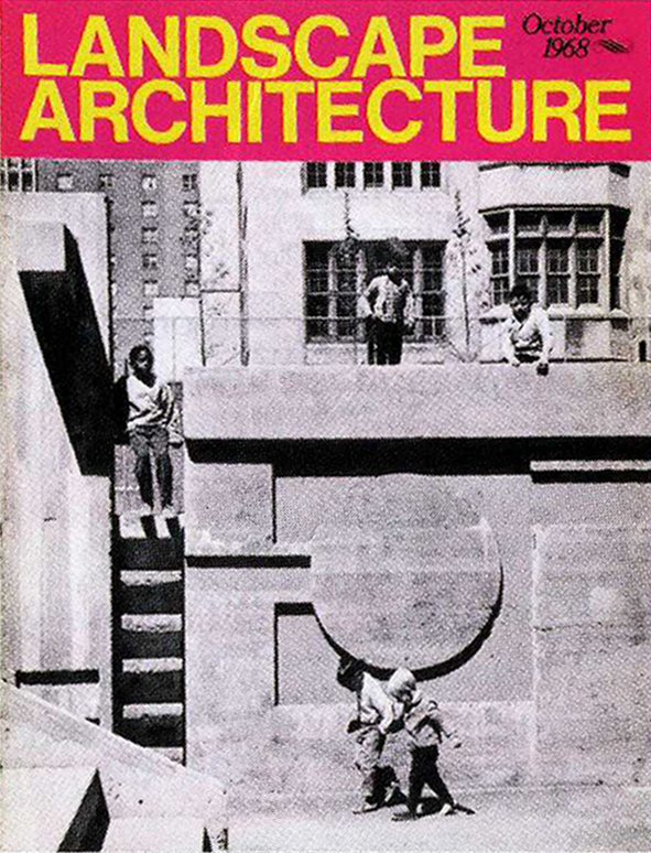 Landscape Architecture  , October 1968   © American Society of Landscape Architects