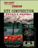 Site Construction Details Manual  Nicholas Dines & Kyle Brown +Library +BWB +Amazon +Publisher