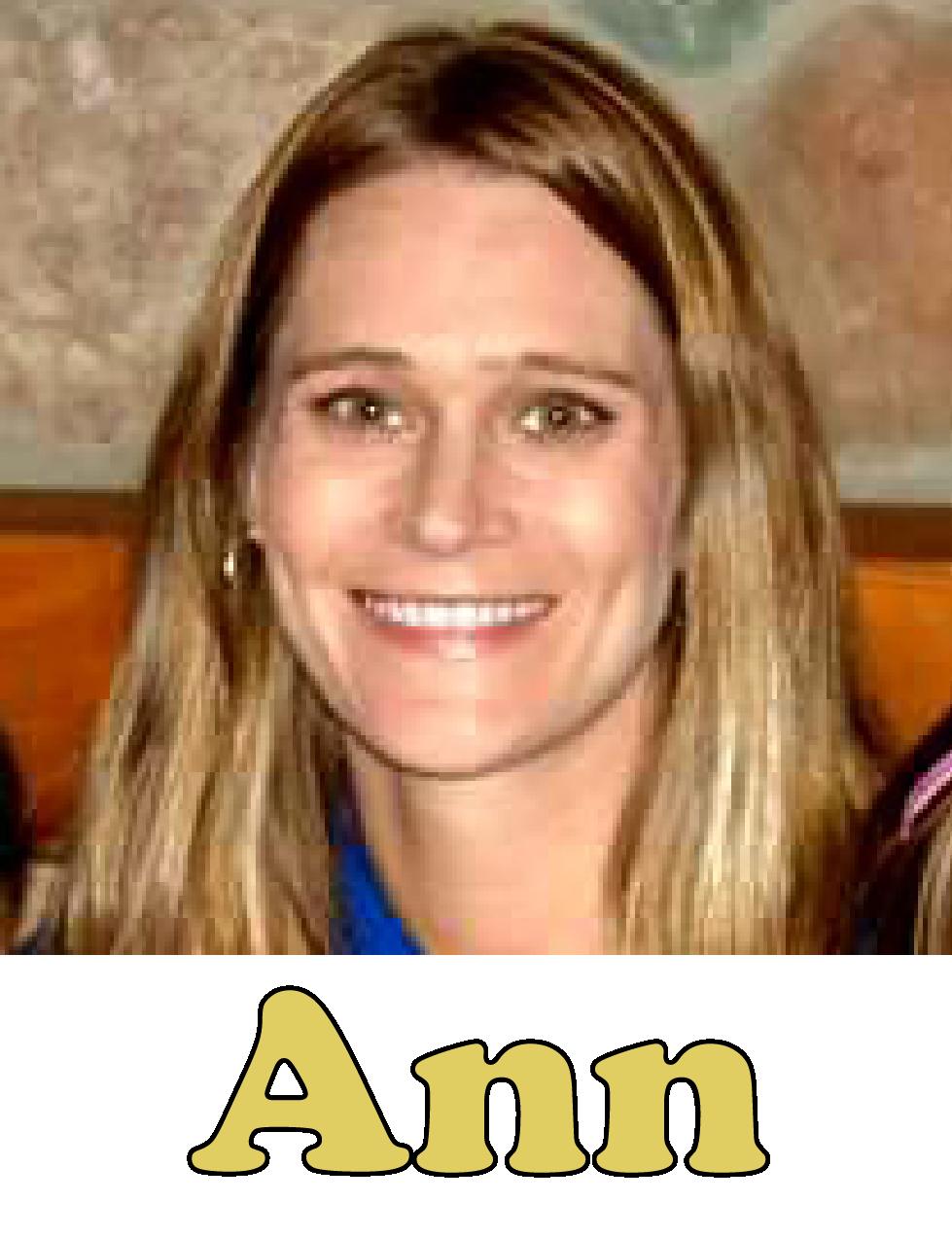 Ann Woodard Ext. 37 Territory Sales Rep Email Ann