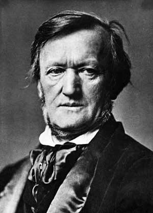 Photo of Richard Wagner taken by Franz Hofstängl in 1871, the year after his marriage to Cosima Liszt von Bülow.
