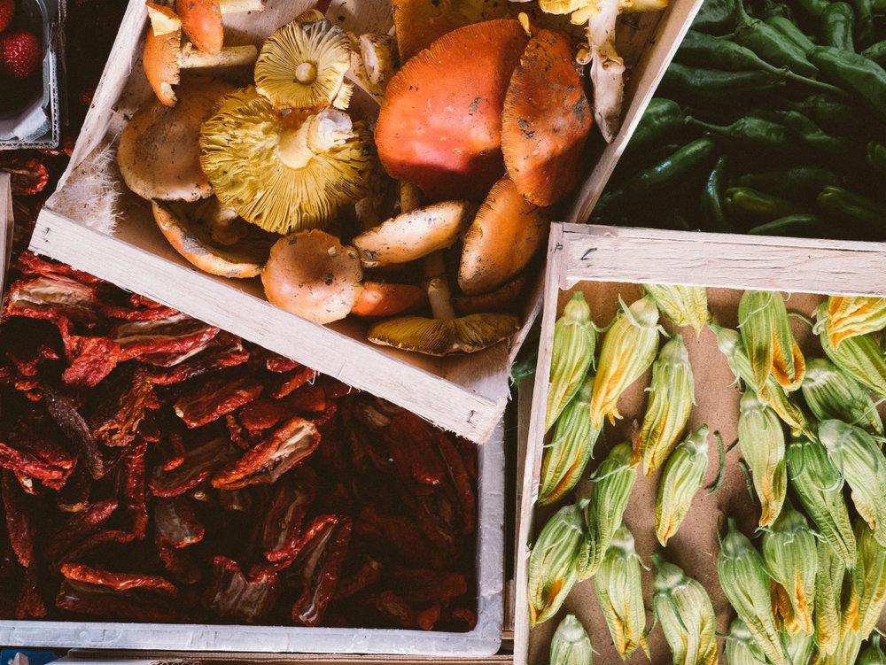 Sant Ambrogio market sells all the seasonal goodies