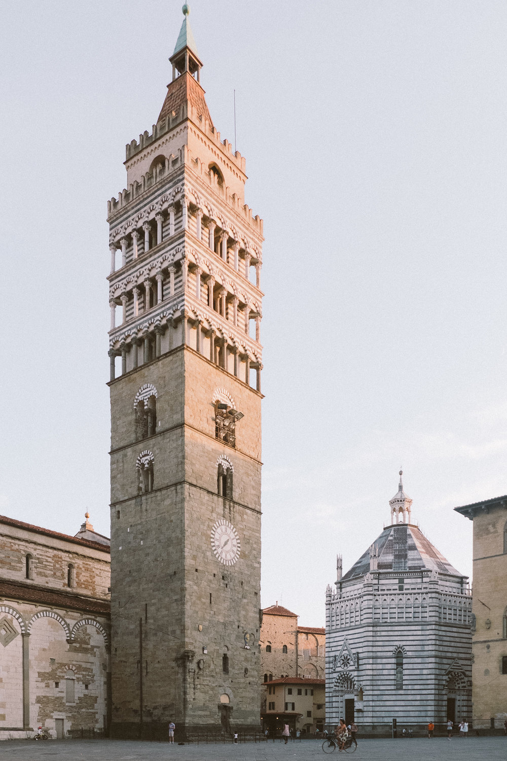 The Bell Tower on the Piazza del Duomo