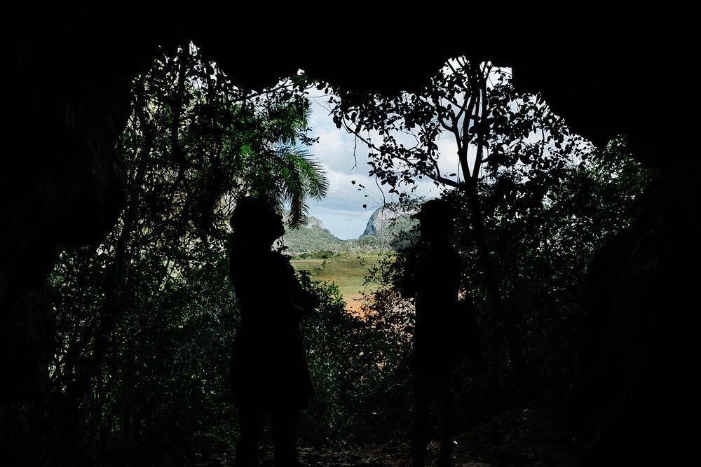 Cueva de la Vaca - A small cave with the spectacular view