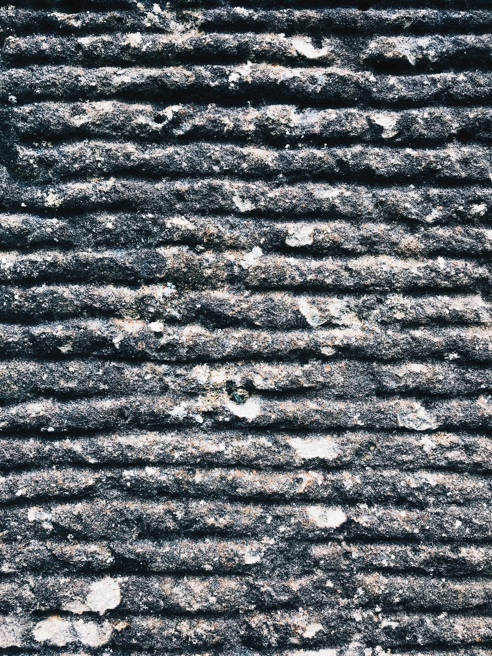 Stone textures on the Castle walls