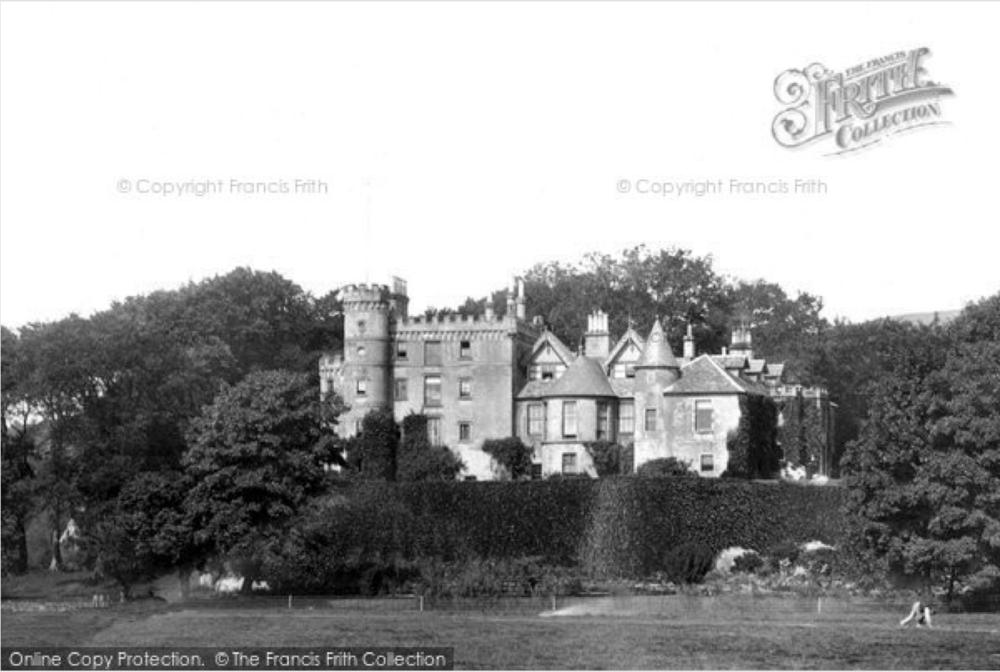 Ardencaple Castle in 1901.  Image source