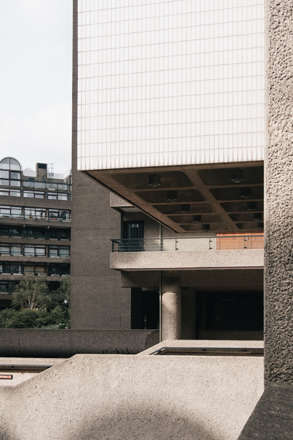 On a sunny day Barbican is especially captivating