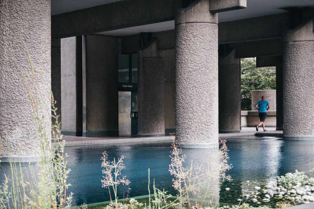 An oasis in the concrete walls