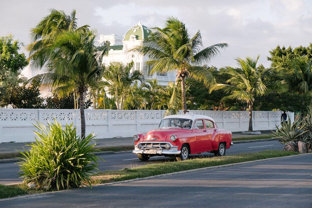 A promenade walk at Punta Gorda