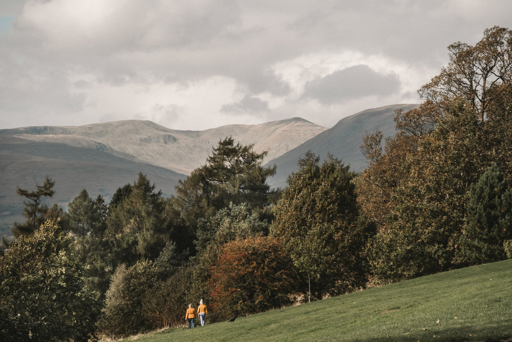 Take a stroll down from the castle to the shore of Loch Lomond