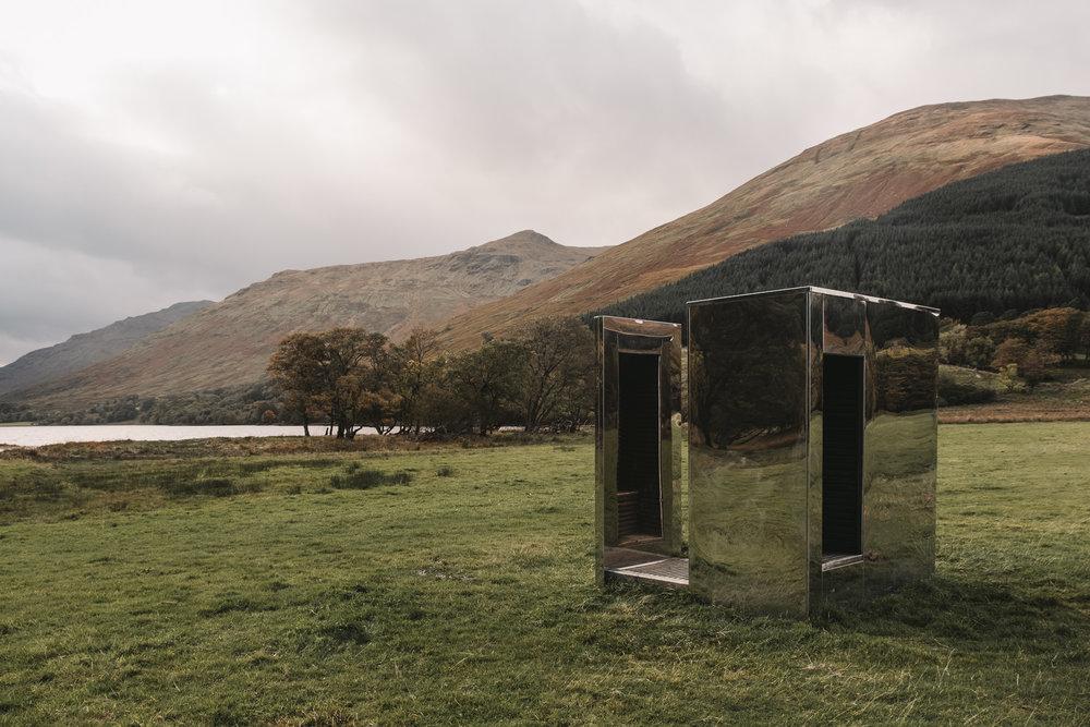 Set between two lochs- Loch Voil and Loch Doine