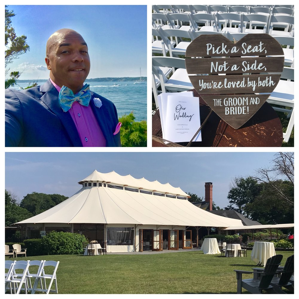 July 4th 2018 Julie & Mark brought Independence Day in with a Bang!!!! DJ Corey Young Hosted this elegant extravaganza and played along with the Forth of July Firework Show. Castle Hill Inn always pleases and the views are spectacular.