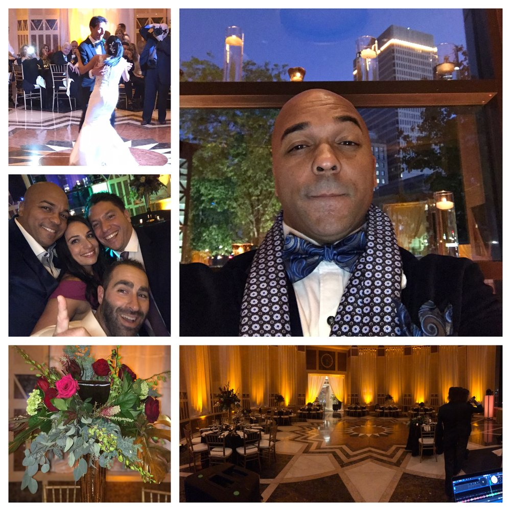 Saturday Night October 20th 2018 DJ Corey Young hosted a beautiful wedding at Cafe Nuovo in Providence RI. It was a great fall festive wedding in the city of Providence.