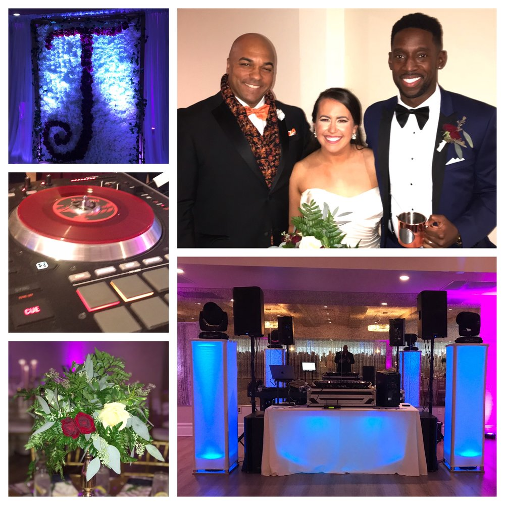 Saturday night October 27th 2018 DJ Corey Young hosted a Wedding at Atlantic Resort in Middletown RI.  It was a fun filled evening of from dinner to the dance floor!!!