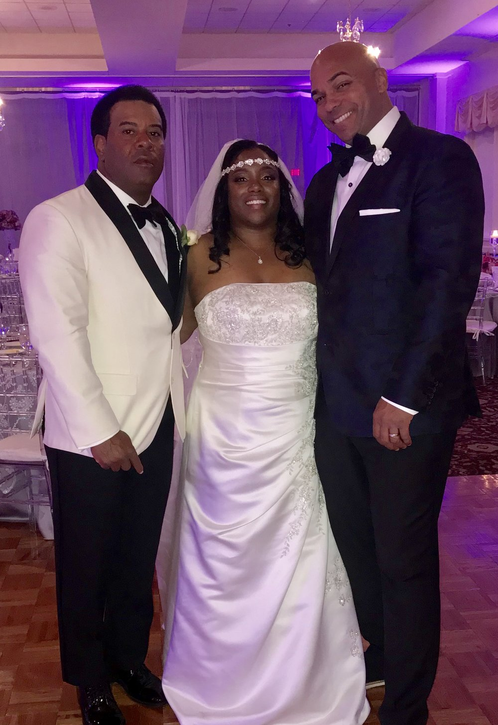 Sunday Night 11-11-18 DJ Corey Young Hosted and provided his Disc Jockey and Master of Ceremony services at Kirkbrae Country Club for this beautiful Wedding. Uplighting & Monogram also provided by DJ Corey Young