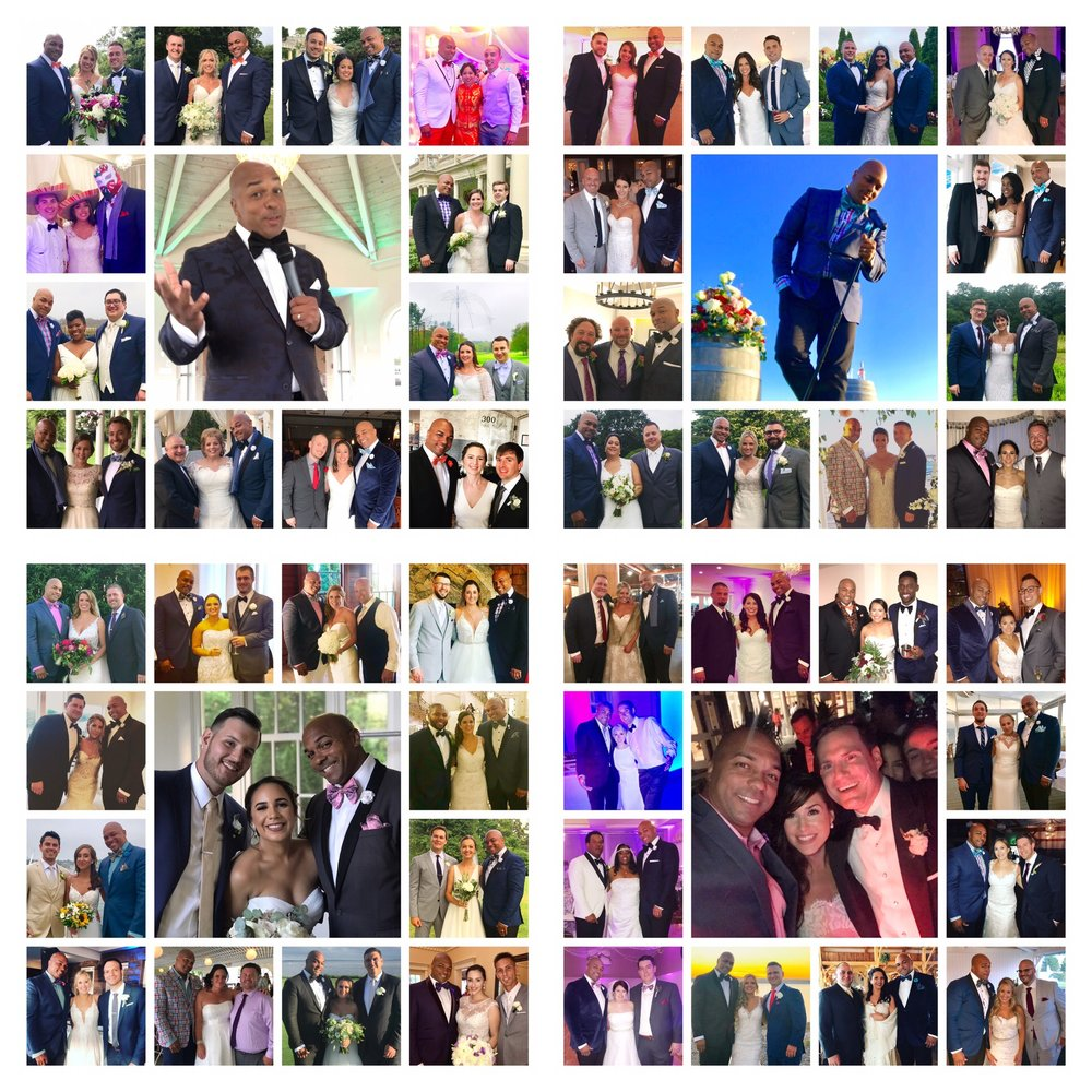 2018 Wedding Recap!!!  Congratulations  to all the Brides & Grooms of 2018!!! Thank You for Trusting me with one of the most important days of your lives!!!   #djcoreyyoung #weddingseason2018