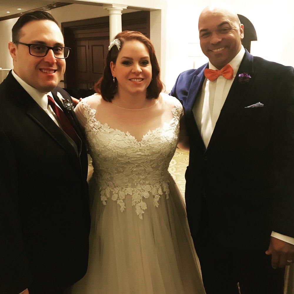 Congratulations Tara & Robert!!!!  DJ Corey Young