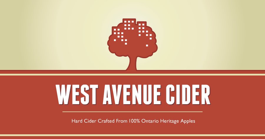 West Avenue Cider is an artisanal Hard Cider company. We craft our Cider from 100% fresh pressed juice made from Ontario heritage apples. All our Ciders are hand crafted using fully ripe fruit and traditional methods.