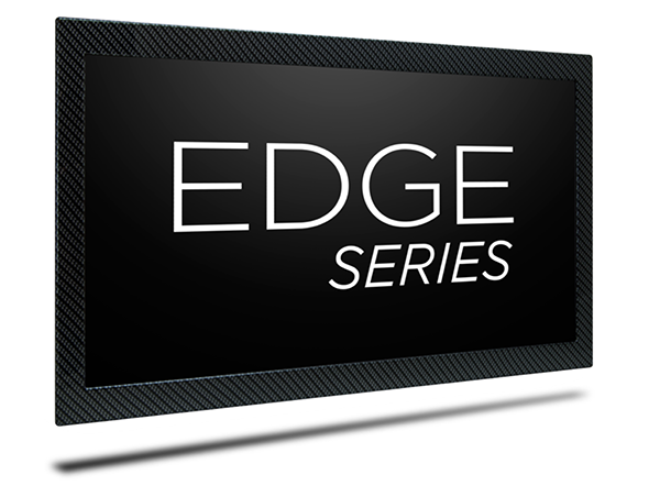 The Aviation Industry's Thinnest LCD Displays  Introducing the EDGE SERIES™ HD displays for business and private jets delivering a true 1080p resolution at 60Hz.. These incredibly thin and lightweight displays can be mounted with a customized bezel to coordinate with any cabin interior. Edge Series Displays are engineered from the ground up to meet or exceed the most rigorous standards.  One inch thin  Fanless for whisper quiet operation  Flexible mounting configurations  Currently available in 17″, 22″, and 32″ sizes  Optional custom front bezel