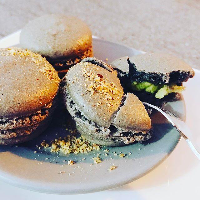 #Macaron #pistache #homemade