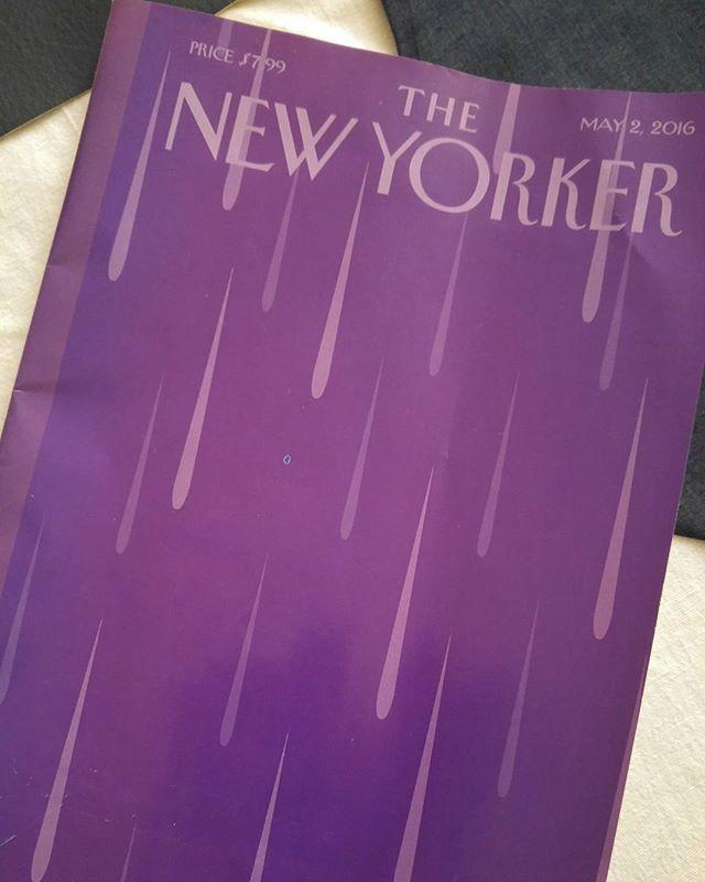Well done #thenewyorker ! 💜 #prince #purplerain #80schild #nostalgia