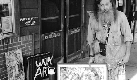 Wiili on King Street in Boone, NC. Image from the Hickory Museum of Art
