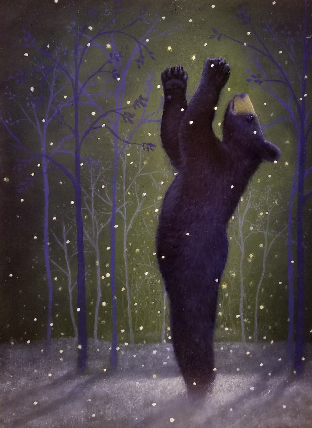 Night Magic, Nancy Oppenheimer. Featured in Southwest Art Magazine