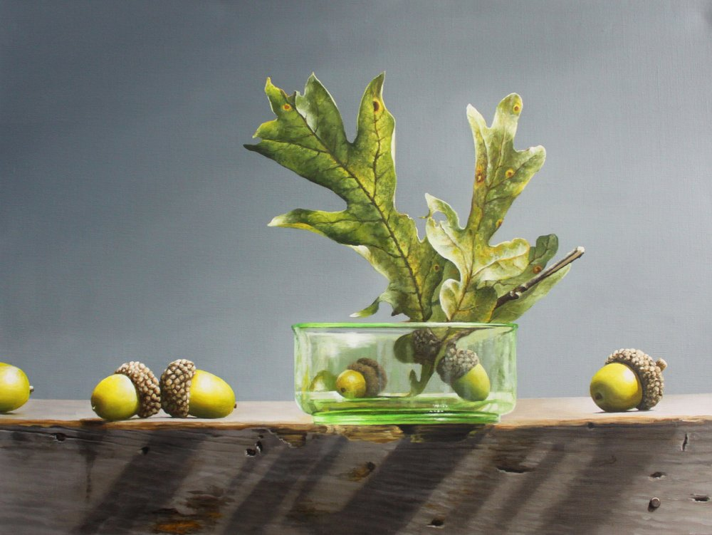 acorns in green bowl 18x24.JPG