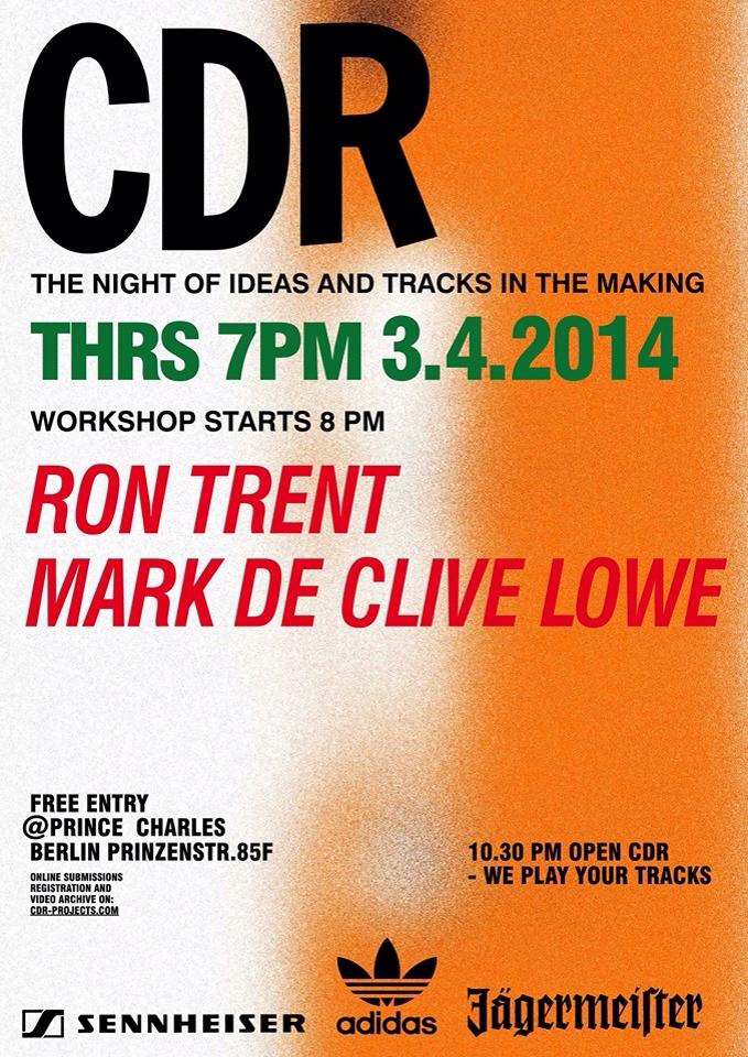 CDJ with Ron Trent and Mark De Clive Lowe