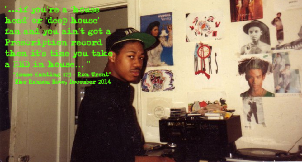 """House Hunting #23 - Ron Trent"" - The Ransom Note, December 2014"