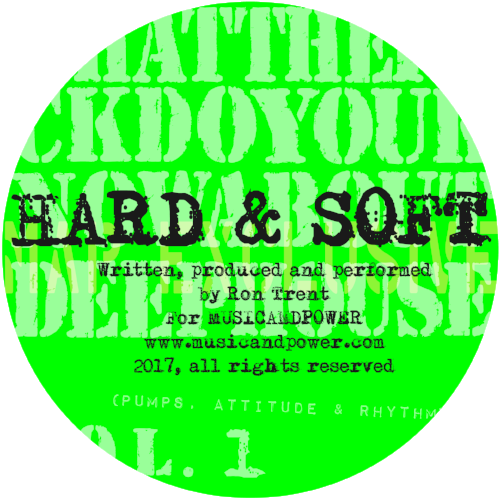 From the forthcoming compilation of 'WHATTHEFUCKDOYOUKNOWABOUTDEEPHOUSE Vol. 1 - Pumps, Attitude & Rhythm', First heard on Ron Trent's Boiler Room appearance back in 2014, Hard & Soft has been a highly sought after creation, it takes you on a melodic journey between the staccato drums, the seductive keys and that bassline. This is an introduction to the series of the eclectic campaign that tells the story of the roots of what the world knows as Deep House Music. 'Hard & Soft' is unforgettable.